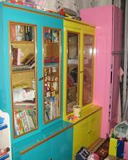 3 шкафа для детской Обтянуты пленкой оракал